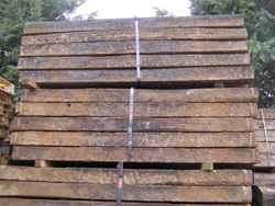 grade 1 oak railway sleepers